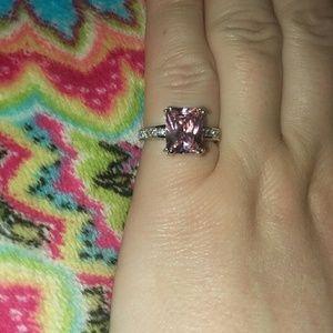 Jewelry - Pink Topaz Ring